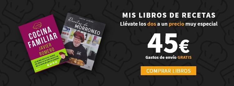 Compra mis libros de recetas por 45 euros (envío gratis)