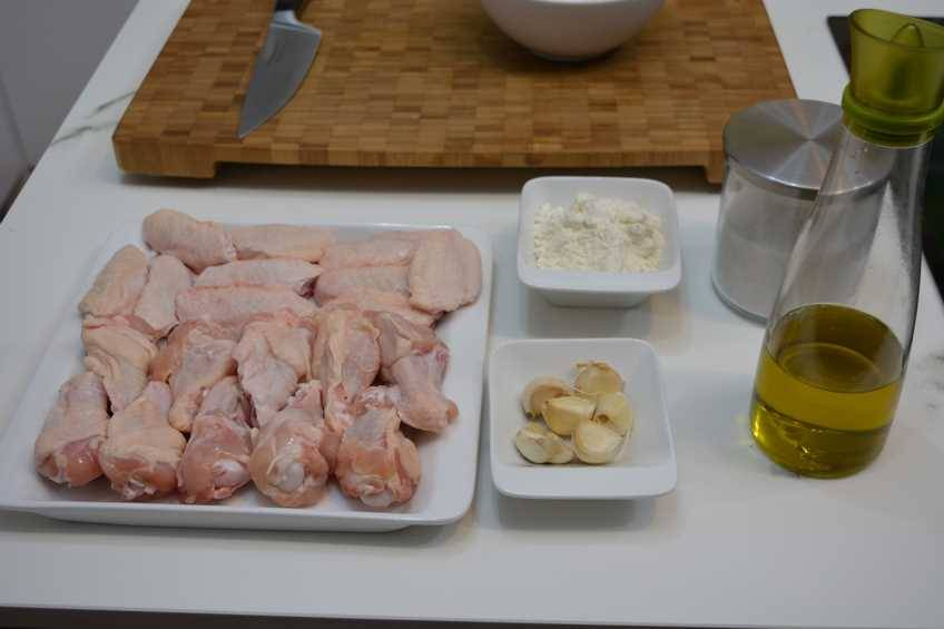 Foto de los ingredientes