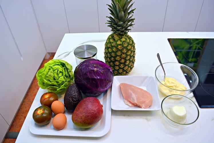 Ingredientes necesarios para la receta