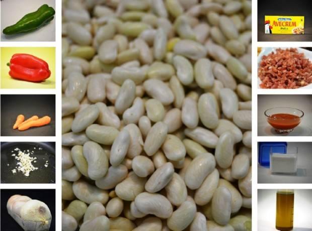 Pochas con verduras para dieta - Cocinar verduras para dieta ...