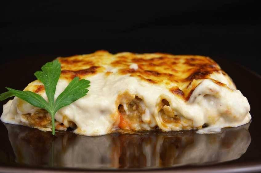 Paso 6 de Canelones de carne, receta casera