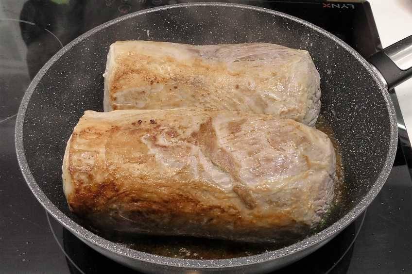 Paso 1 de Lomo de cerdo en salsa de naranja