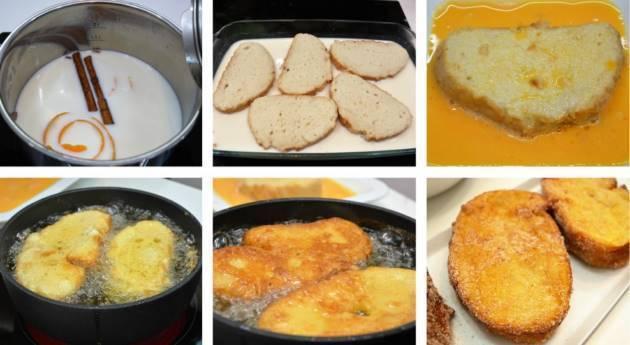 Paso 3 de Torrijas con aroma de naranja