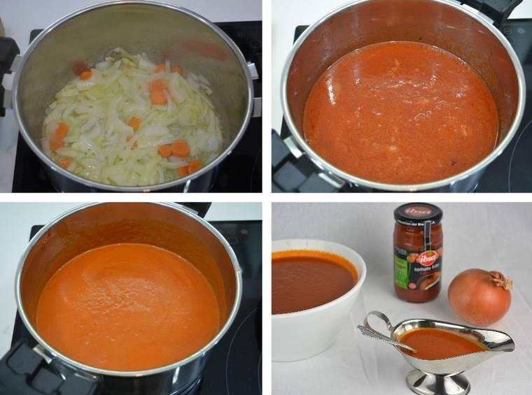 Paso 3 de Salsa brava, receta casera