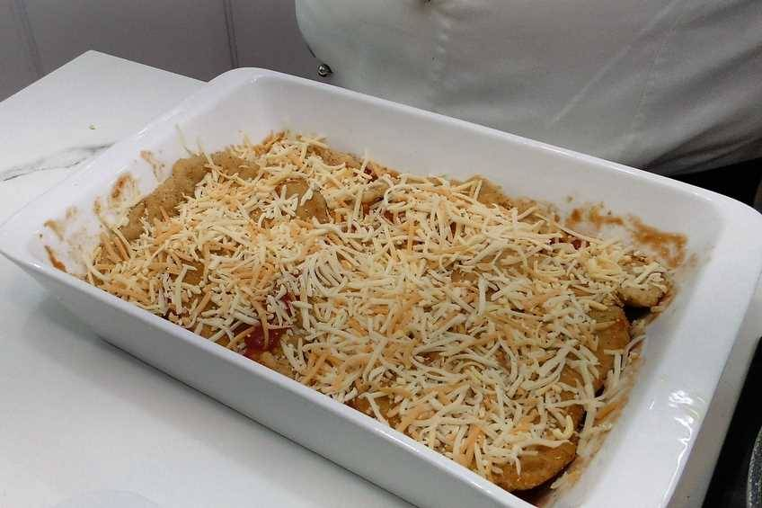 Paso 3 de Receta de pollo a la parmesana, cocina italiana