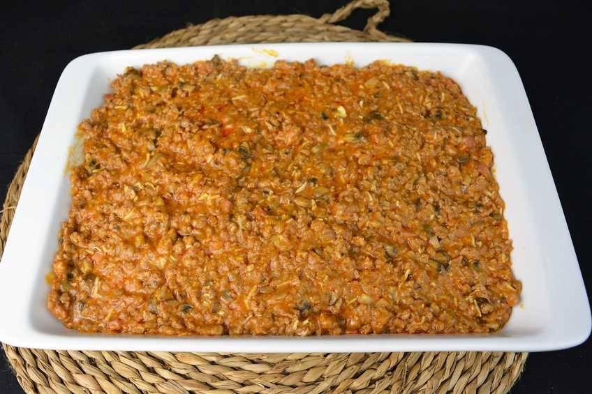 Paso 1 de Empanada de carne con masa de hojaldre