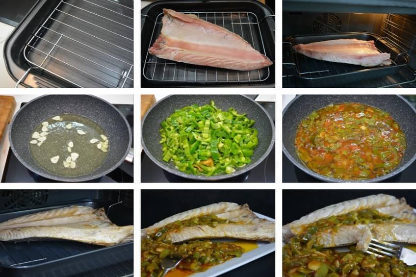 Paso 3 de Ventresca de atún con fritada