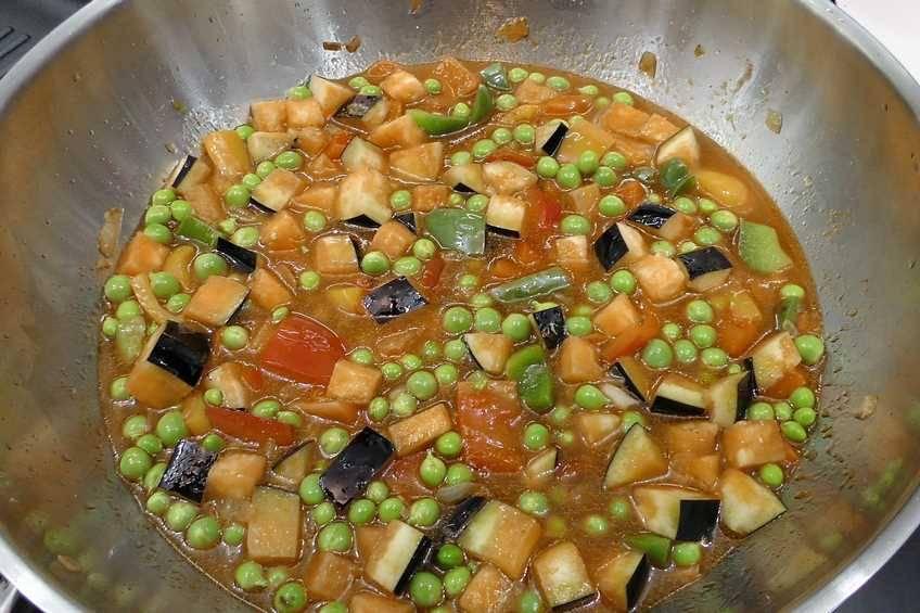 Paso 5 de Solomillo de cerdo con salsa teriyaki y verduras