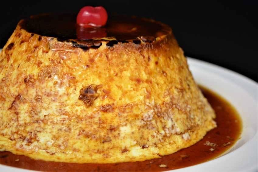 Paso 5 de Flan de huevo sin horno