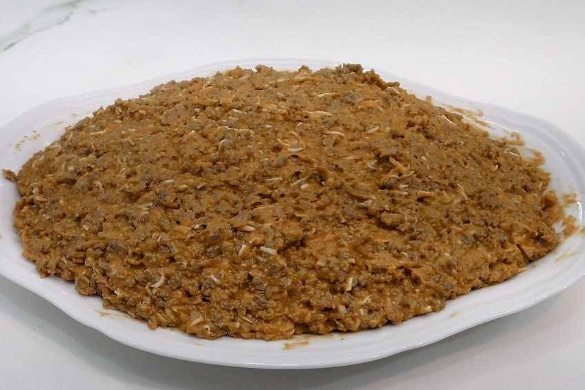 Paso 5 de Pimientos rellenos con salsa de hongos y foie