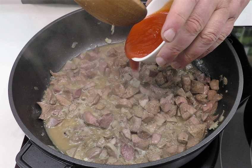 Paso 3 de Chanfaina, receta casera