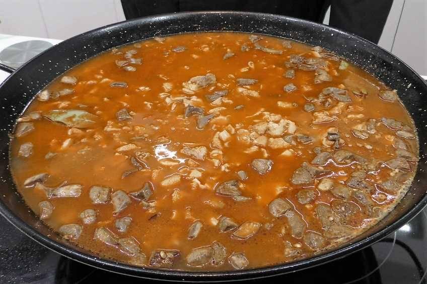 Paso 6 de Chanfaina, receta casera