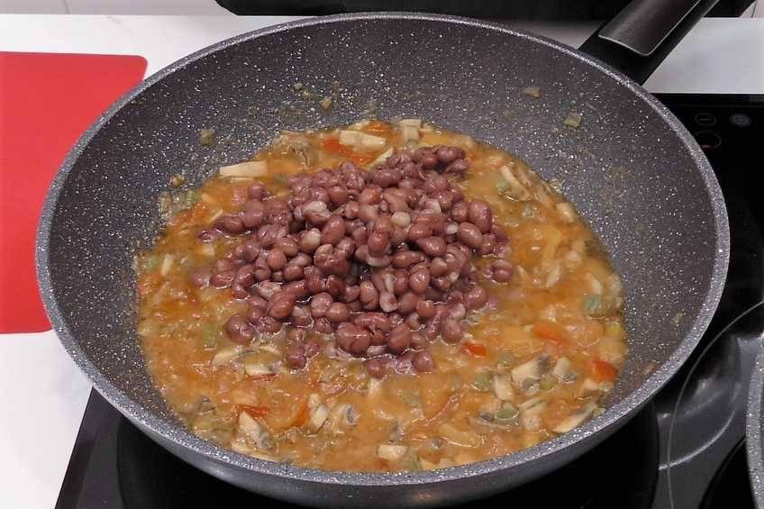Paso 4 de Burritos con caparronas de Anguiano