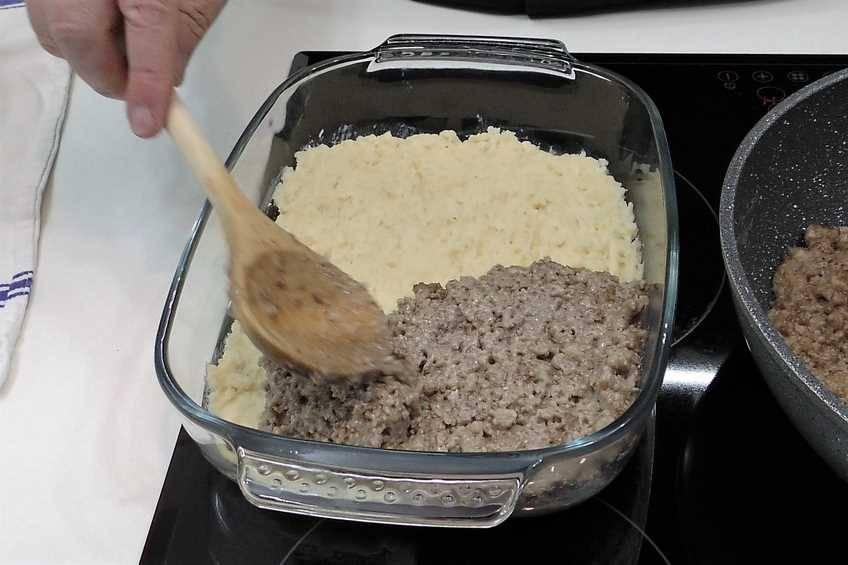 Paso 5 de Pastel de carne, receta casera