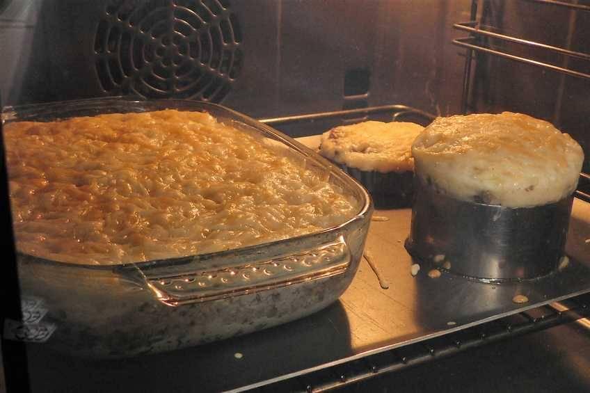 Paso 7 de Pastel de carne, receta casera