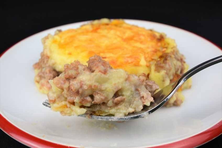 Paso 8 de Pastel de carne, receta casera