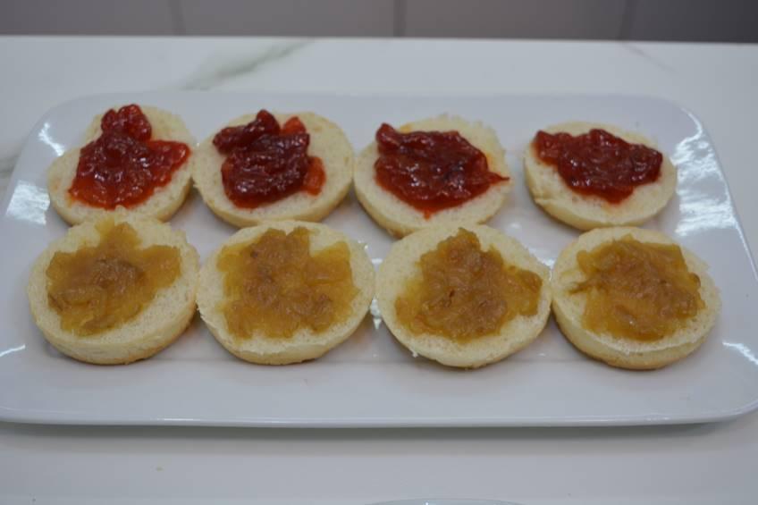 Paso 1 de Minihamburguesas con caramelizados IBSA