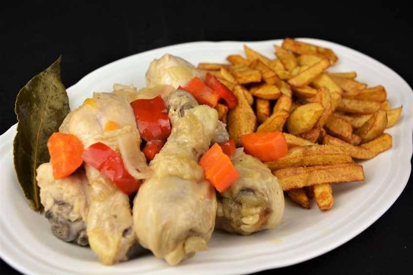 Paso 5 de Como hacer pollo en escabeche, receta tradicional
