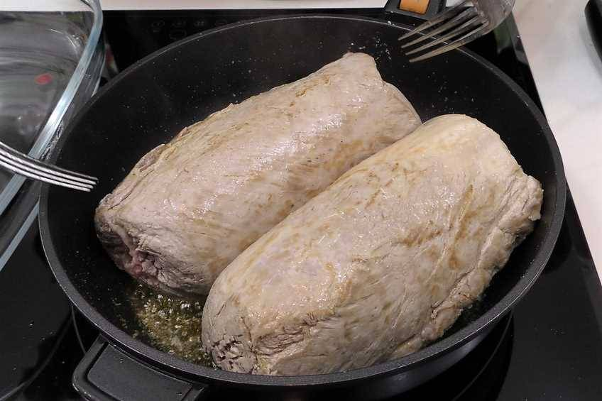 Paso 1 de Lomo de cerdo al horno con salsa agridulce