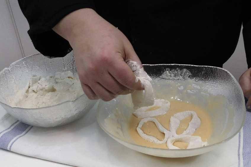 """Paso 2 de Cómo hacer pasta """"Orly"""" para fritos"""