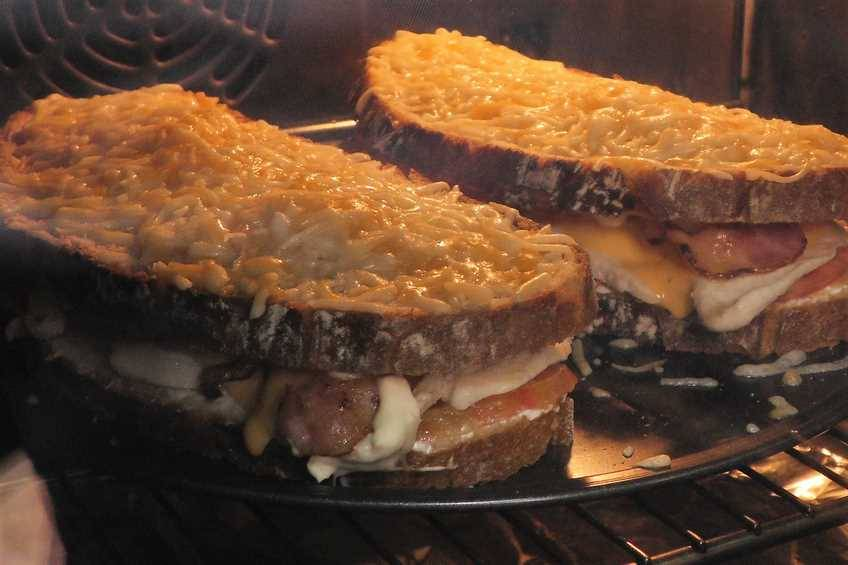 Paso 5 de Sándwich de Cocina Familiar