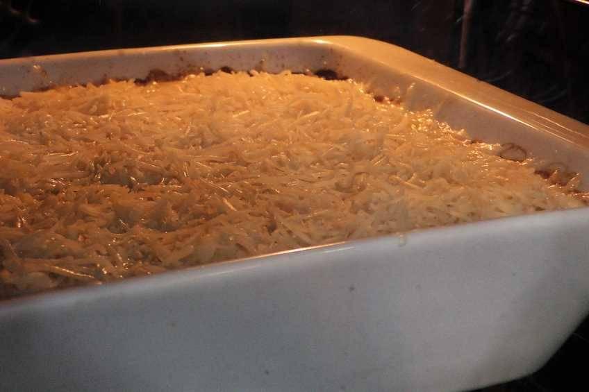 Paso 4 de Patatas gratinadas al estilo suizo