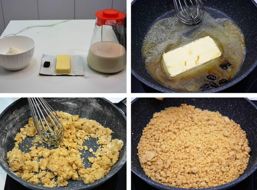 Paso 1 de Croquetas rellenas con queso de cabrales