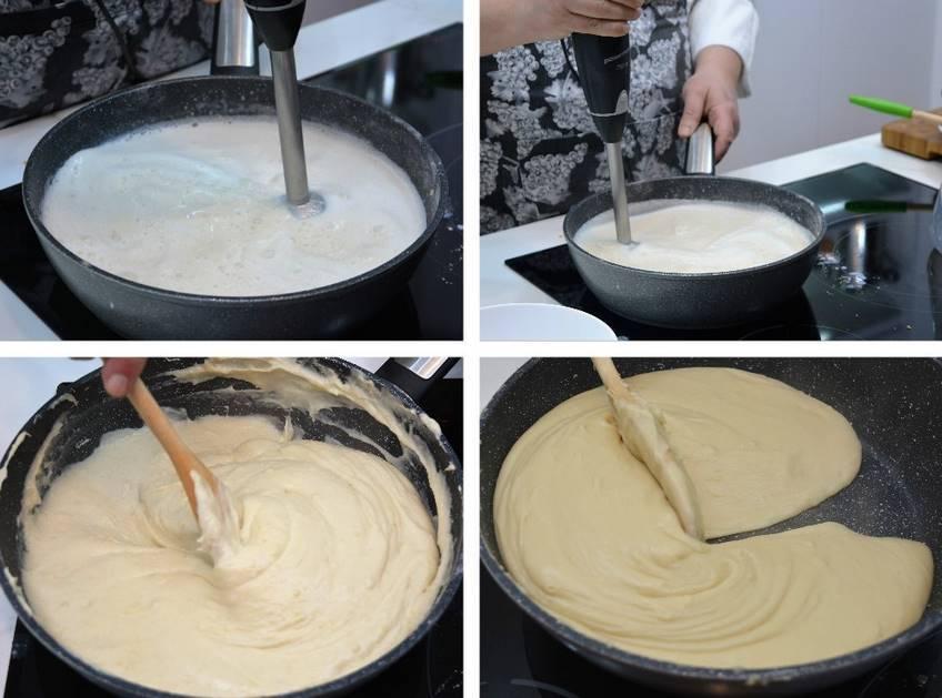 Paso 2 de Croquetas rellenas con queso de cabrales