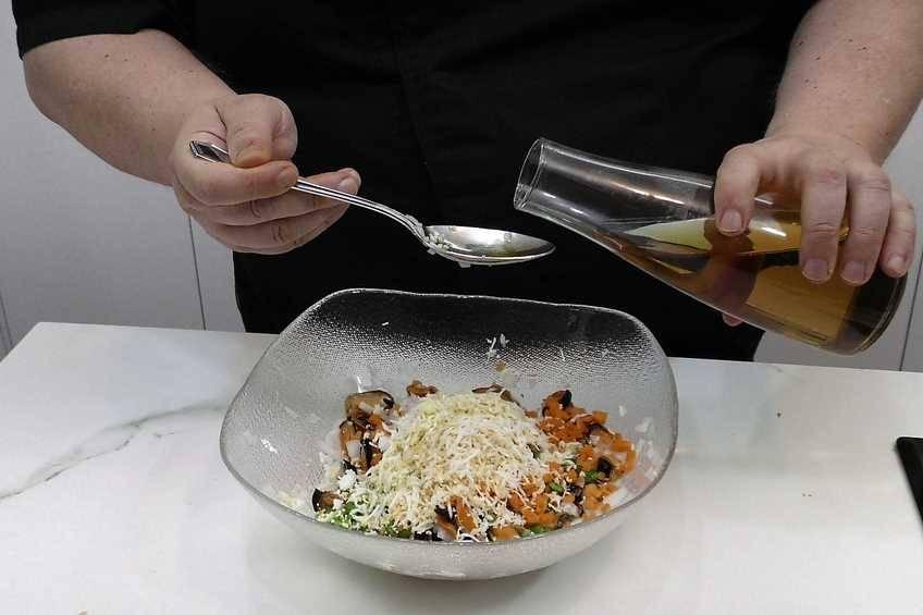 Paso 2 de Mejillones con salsa vinagreta