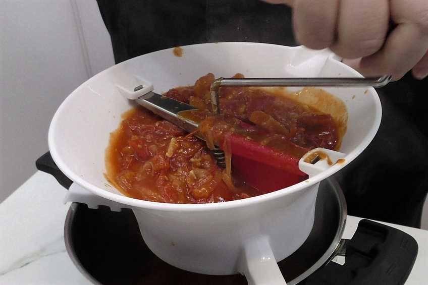 Paso 4 de Salsa de tomate frito, receta casera