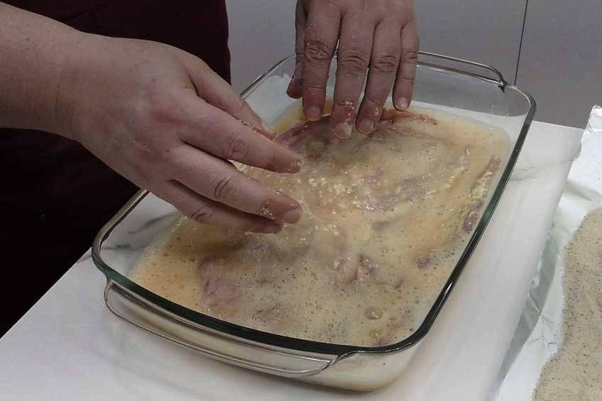Paso 3 de Cachopo asturiano, receta casera