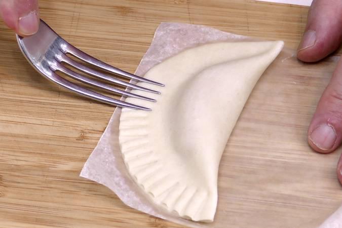 Paso 3 de Empanadillas de manzana caramelizada
