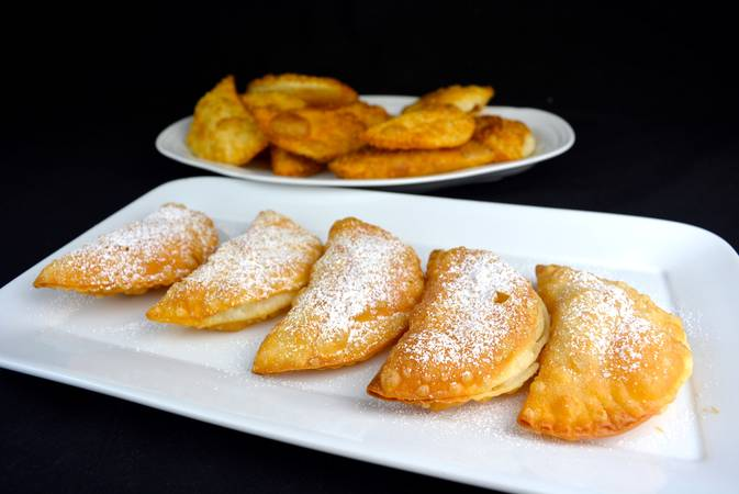 Paso 6 de Empanadillas de manzana caramelizada