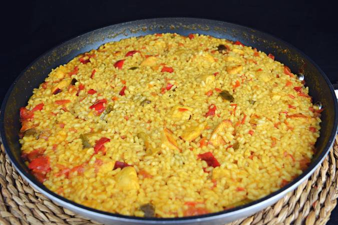 Paso 7 de Arroz con pollo al curry
