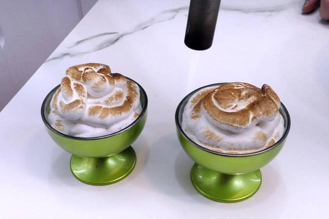Paso 5 de Soufflé de merengue y crema pastelera