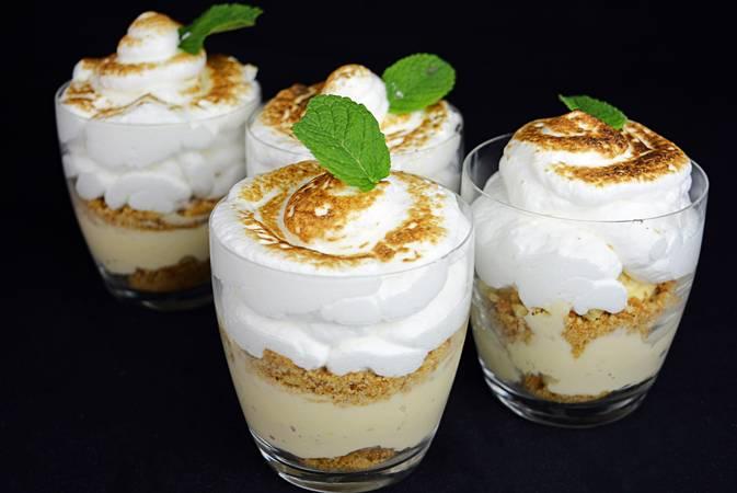 Paso 6 de Soufflé de merengue y crema pastelera