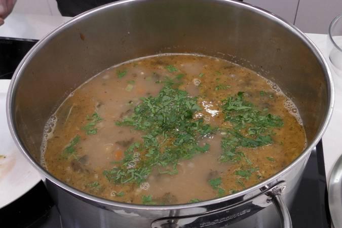 Paso 6 de Sopa minestrone