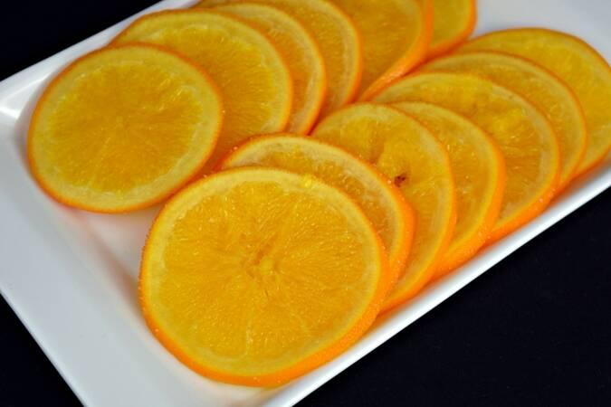 Paso 5 de Naranja confitada para el roscón de reyes