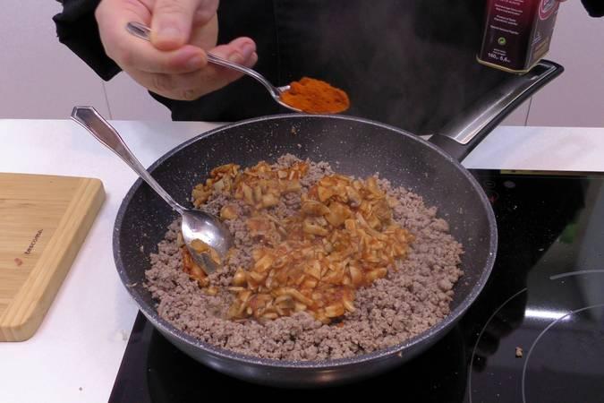 Paso 4 de Receta de lasaña de carne