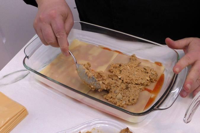 Paso 9 de Receta de lasaña de carne