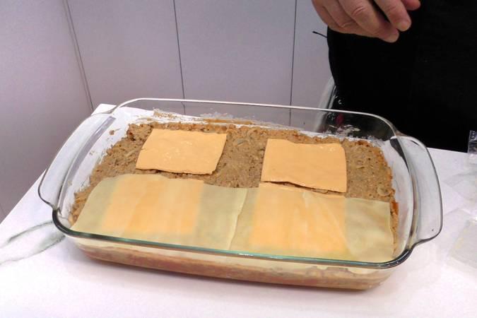 Paso 10 de Receta de lasaña de carne