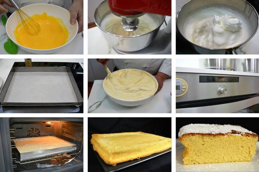 Paso 4 de Como hacer un bizcocho casero muy esponjoso para 24 personas
