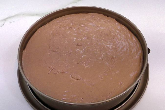 Paso 5 de Cheesecake de chocolate