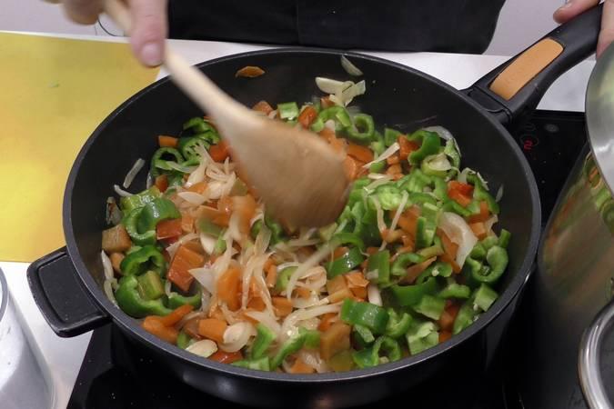 Paso 2 de Samfaina de verduras