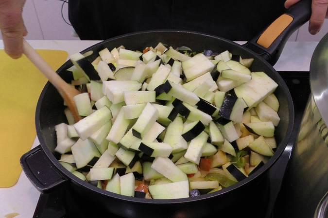 Paso 3 de Samfaina de verduras