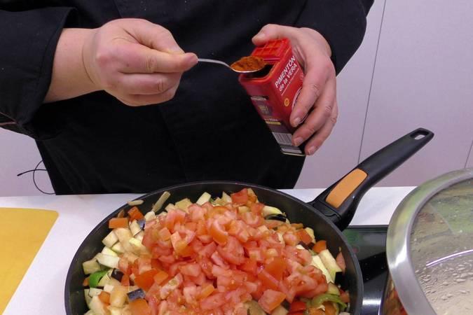 Paso 4 de Samfaina de verduras