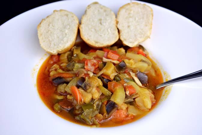 Paso 6 de Samfaina de verduras