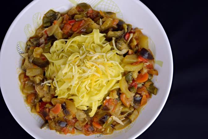 Recetas de pasta con verduras para dieta