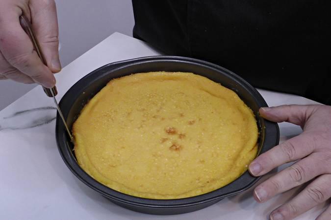 Paso 7 de Flan de naranja con caramelo casero