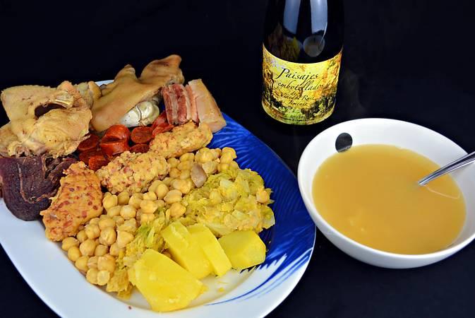 Paso 10 de Receta del cocido maragato típico de León